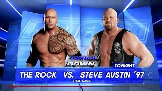 WWE2k18 l The Rock Vs Stone Cold l PC gameplay l PC HD 60 fps 1080p
