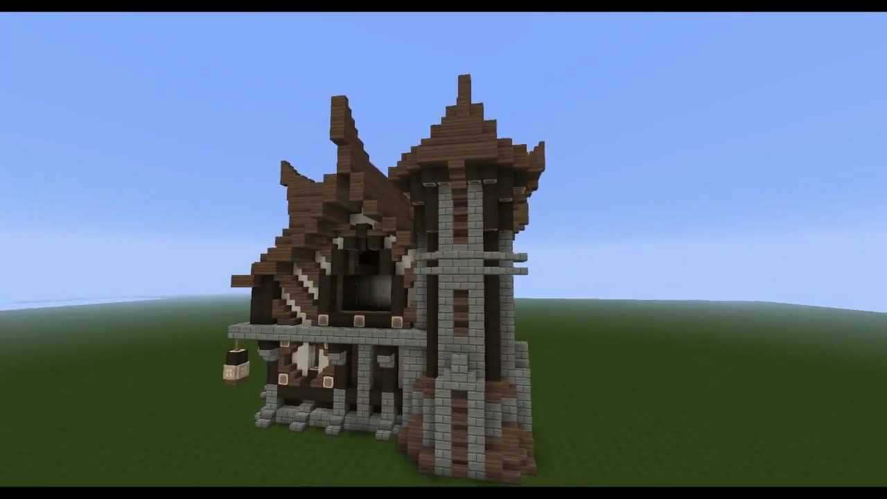 How To Build A Viking House In Minecraft Hd Youtube