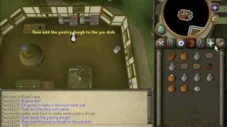 Cooking it up the runescape way:Meat pie