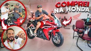 FUI NA HONDA COMPRAR A MOTO MAIS CARA ( DINHEIRO SEM VALOR )