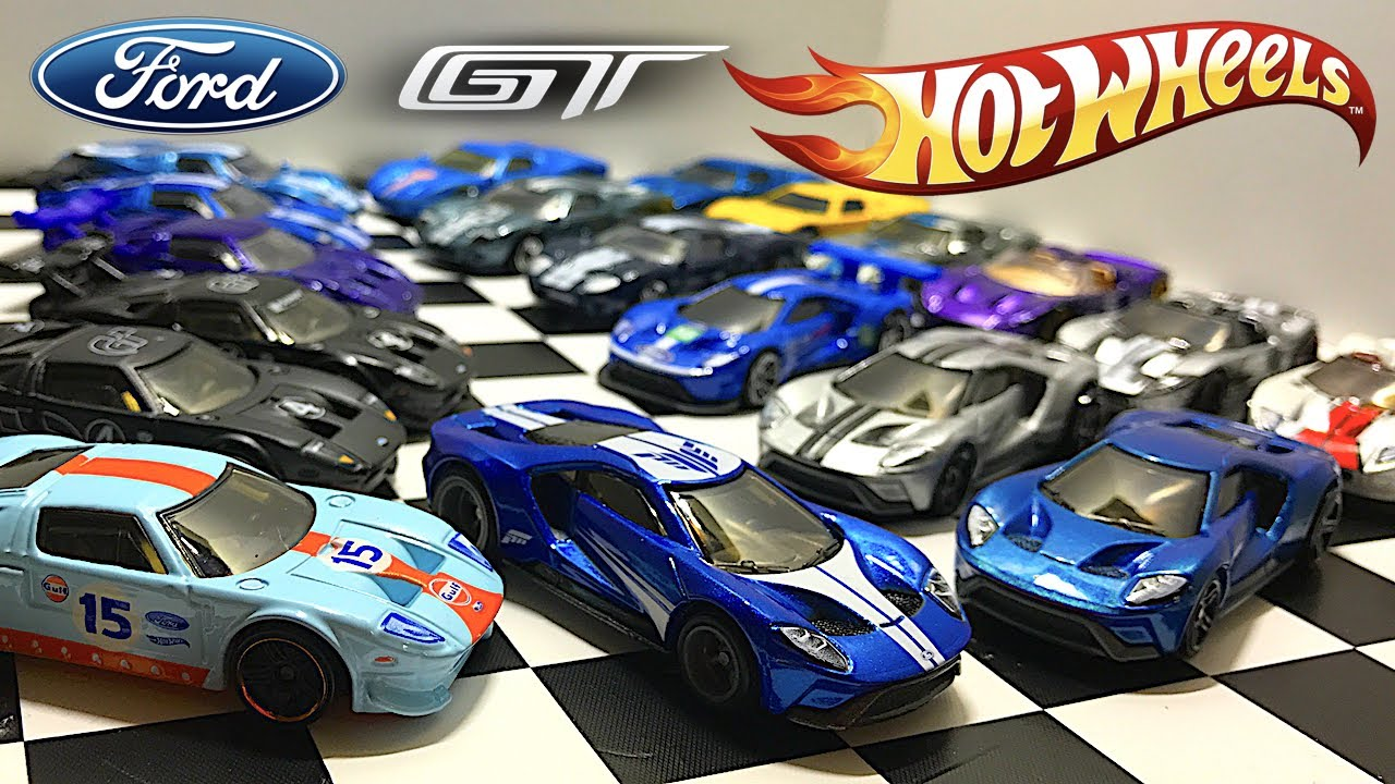 Ford Gt Hot Wheels Collection Youtube