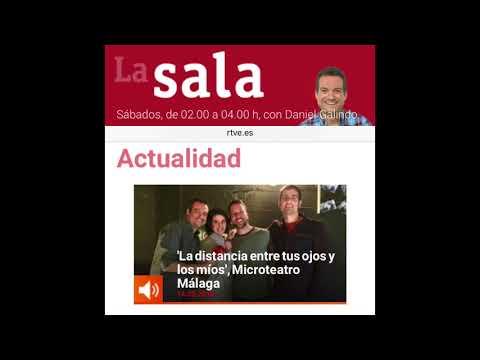 Promo #microDistancia 2018 (reportaje para el pgm. La Sala de RNE)