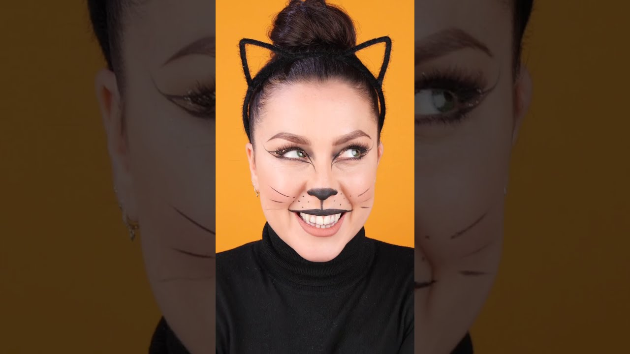 Studio - How to - 🎃  Halloween Makeup - Vertical CAT 2020 #Studio #halloween #trickortreat