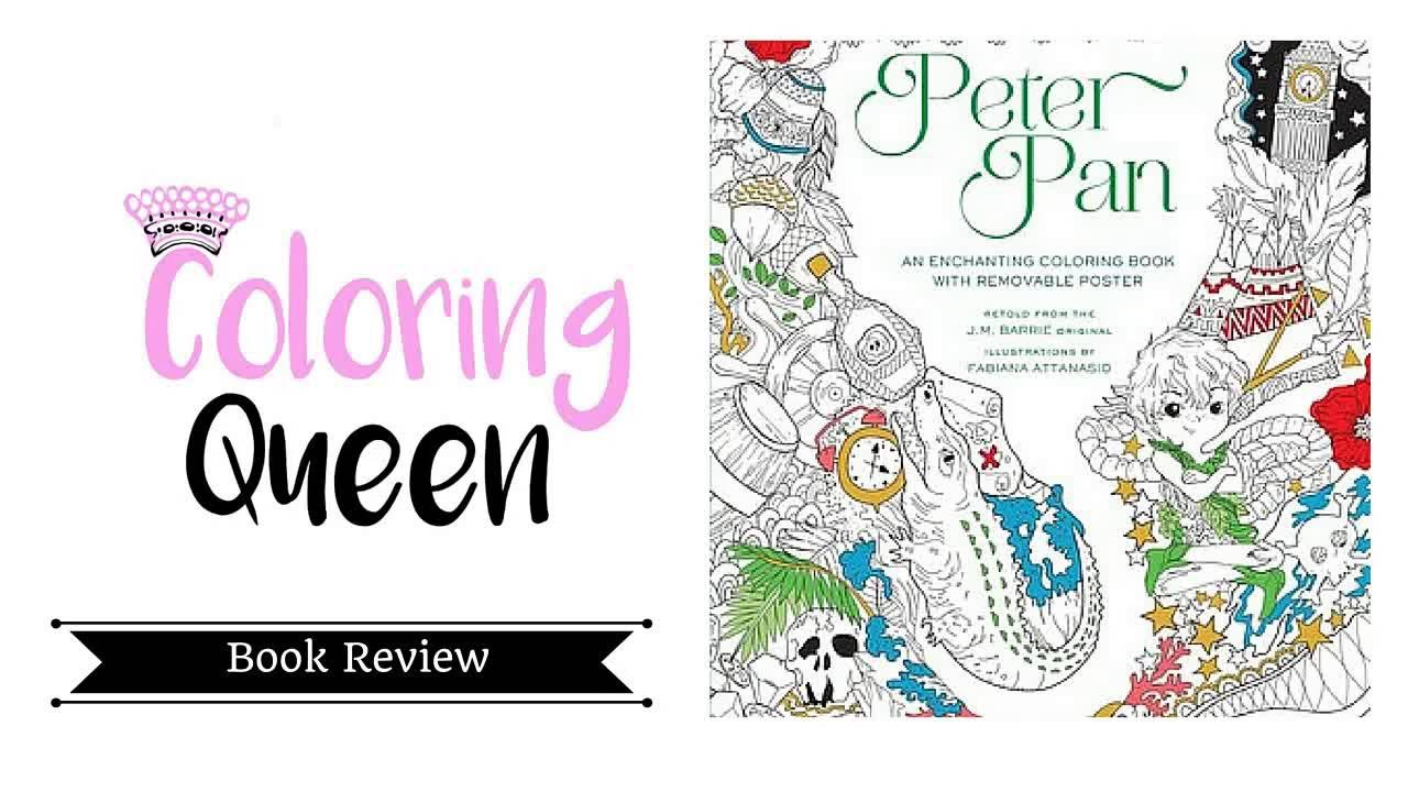 Peter Pan - An Enchanting Coloring Book - Review by Fabiana ...