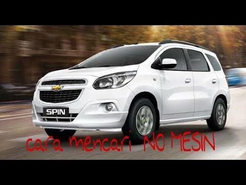 No Rangka Dan No Mesin Chevrolet Spin Youtube