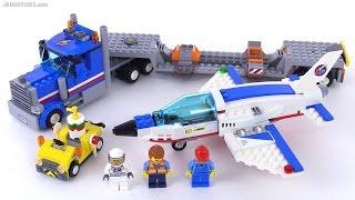 LEGO City Training Jet Transporter review! set 60079