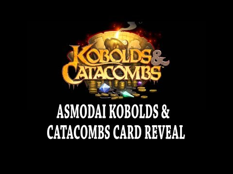 [ Hearthstone ] Asmodai Kobolds And Catacombs Card Reveal !