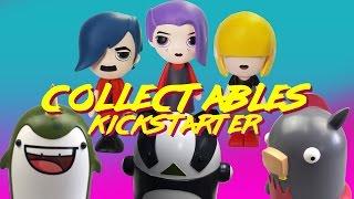 Collectable Vinyl Toys Kickstarter Launch - Savlonic, Amazing Horse, Narwhals