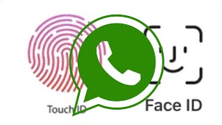 WhatsApp - use o TOUCH ID/FACE ID para proteger as suas conversas .