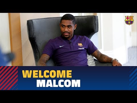 [EXCLUSIVE] MALCOM: 'I want to make history at Barça' Mp3