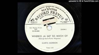 Curtis Gordon - Where