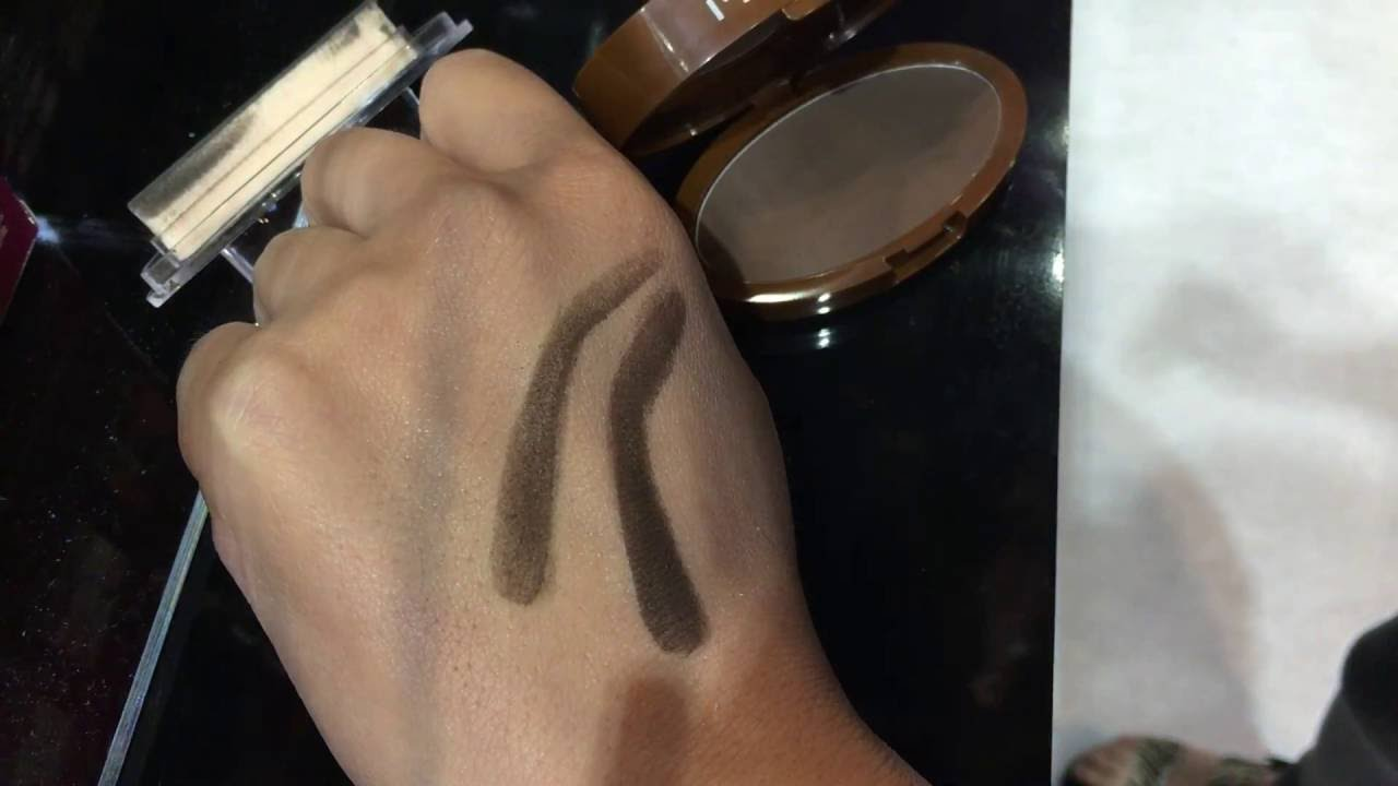 NEW IENVY Brow Stamp Delicate In Dark Brown Test At 2016 Orlando