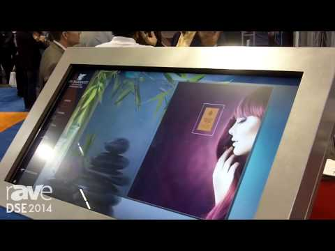 DSE 2014: TOSHIBA Lumina Digital Signage Services Showcases Interactive Kiosk