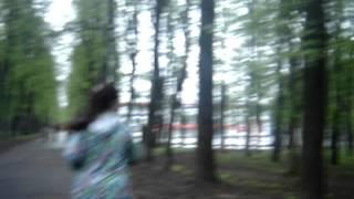 Бег в парке