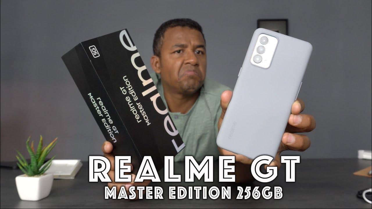 Chegou! O Mais rápido em CARREGAMENTO? Realme GT Master Edition - Unboxing e impressões