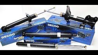 Амортизаторы Decoo стоит ли брать