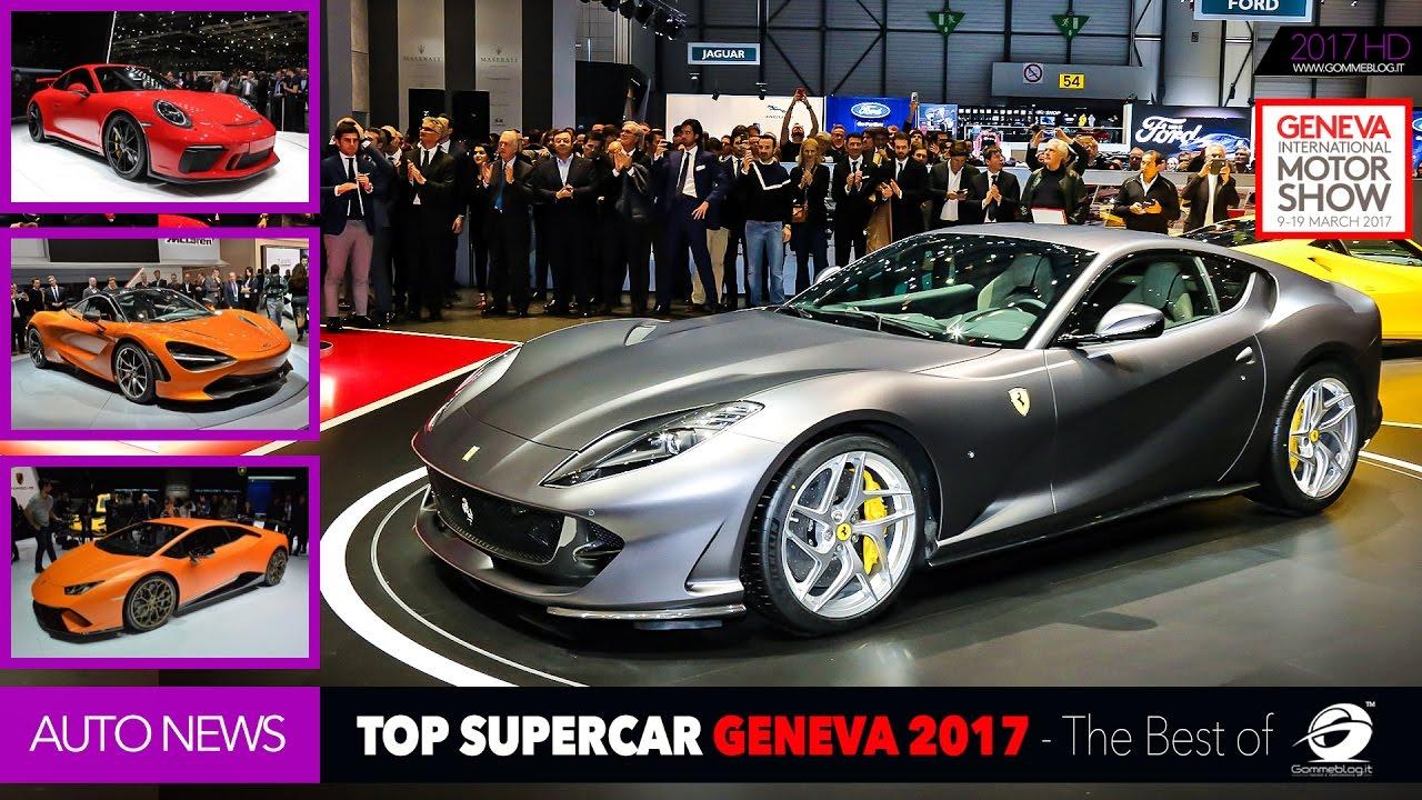 Top Supercar Geneva Motor Show Lamborghini Ferrari