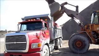 Gravel Truck Action