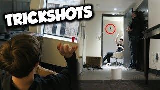 Hotel Room Trickshots with Im Suda