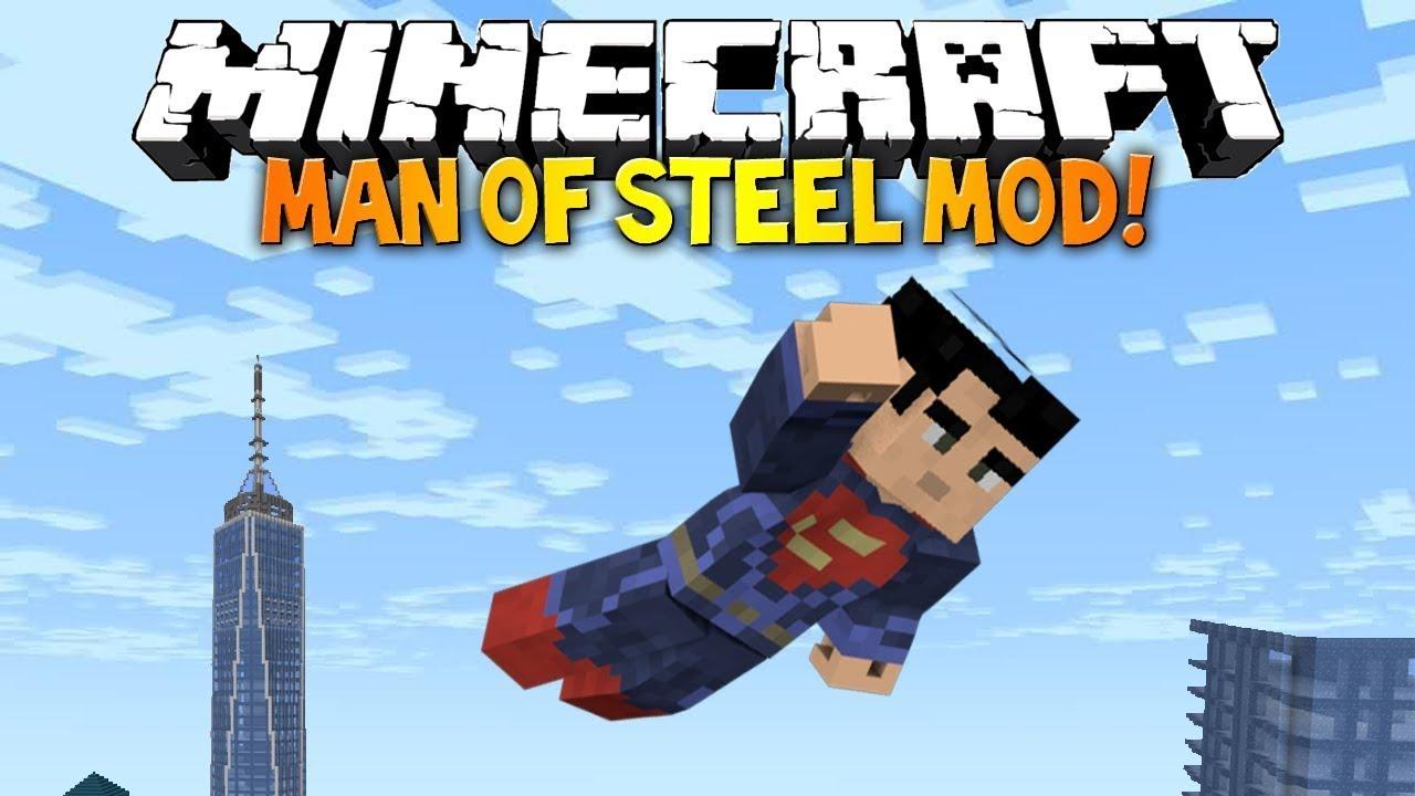 видео как скачать майнкрафт мод супермена #1