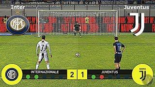 Inter Vs Juventus • Calci di Rigore • PES 2019 Patch [Giù]