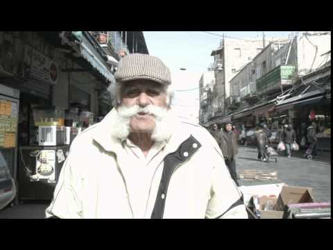 "IAC Gala ""Hello"" video - Raw footage 1 - Jerusalem Man"