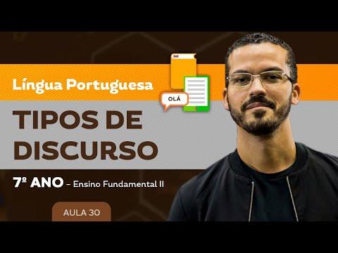 Tipos de Discursos - Aula 01из YouTube · Длительность: 9 мин5 с