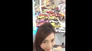 Sara Shantelle Lim - 17 Feb 2016 - Lamborghini Club Singapore CNY at Lamborghini Store Suntec City