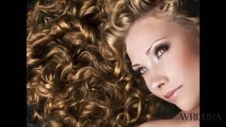 Модные химические завивки на средние волосы