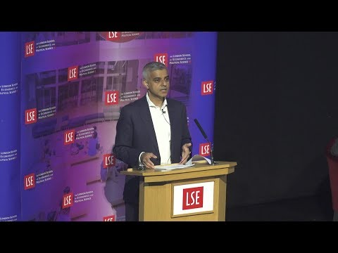 LSE Events | Sadiq Khan | Good Growth by Design – A Vision for London