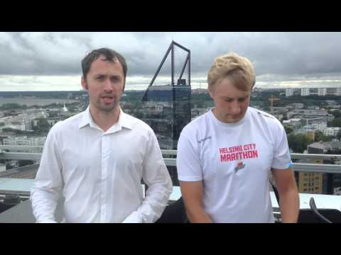 ALS Ice Bucket Challenge B.com Tallinn office