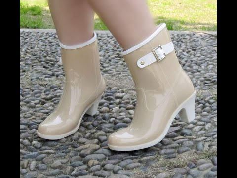 Женские резиновые сапоги - фото - 2019 / Women's Rubber Boots - Photo