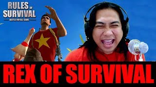 ROS CHEATER ALERT SA STEAM - RULES OF SURVIVAL GAMEPLAY with Sir Rex (Rex of Survival)