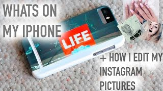 What's on my iPhone + How I Edit my Instagram Pictures | Maddi Bragg Thumbnail