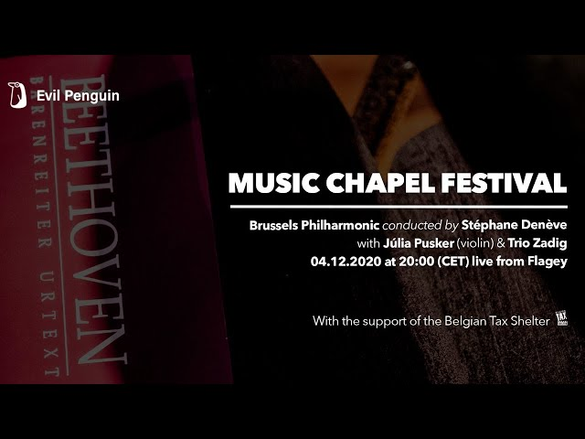 LIVESTREAM - Music Chapel Festival: Beyond Beethoven w/Brussels Philharmonic | live at Flagey
