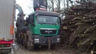 Man Tgs 35.400 Wood Timber Chipper