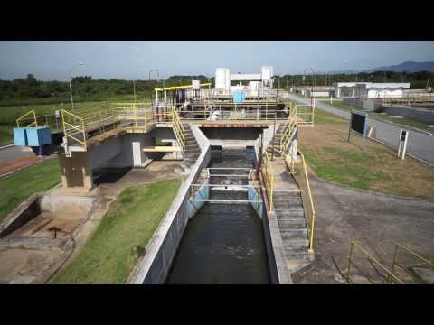 Screening at wastewater treatment plant