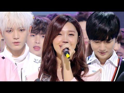 《Inkigayo WIN》 인기가요 1위 발표|Jeong Eun Ji(정은지) - Hopefully Sky(하늘바라기) 20160501