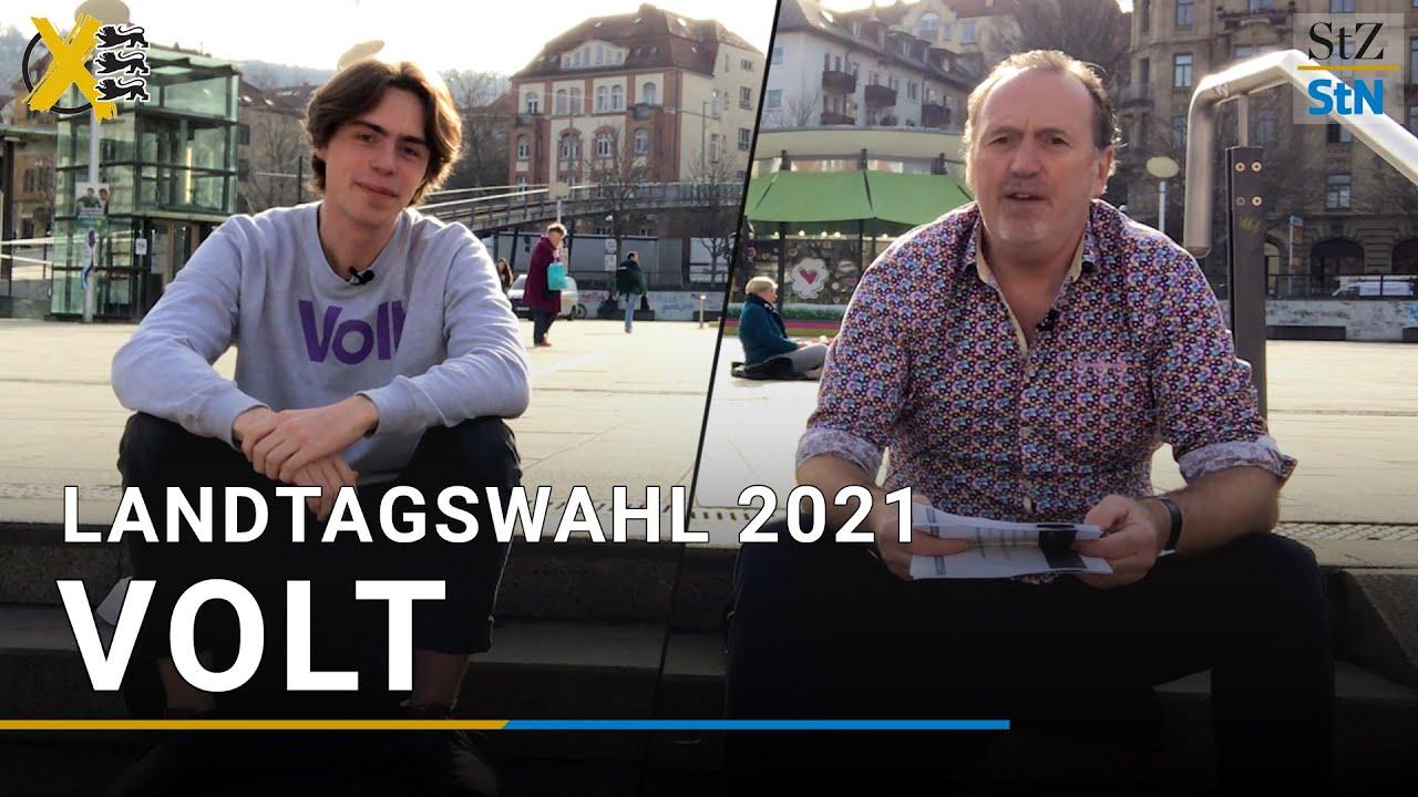 YouTube: Was die Jungen von Volt im Landtag wollen | Landtagswahl Baden-Württemberg 2021