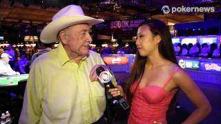 WSOP 2013: Doyle Brunson Comes Home to Wife By Midnight Every Night