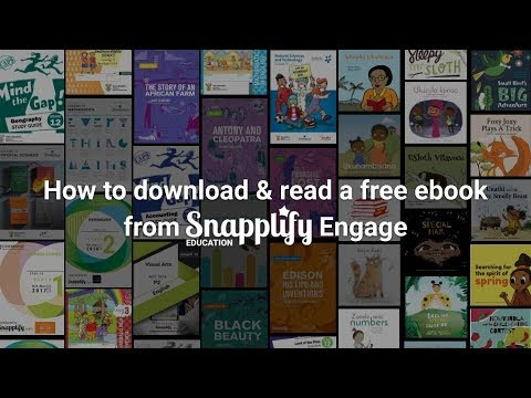 How To Download And Read A Free Ebook From Snapplify Engage