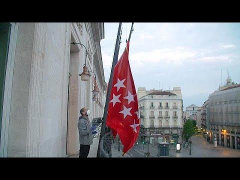 شاهد: إسبانيا تنكس الأعلام حزنا على ضحايا فيروس كوفيد-19  - نشر قبل 2 ساعة