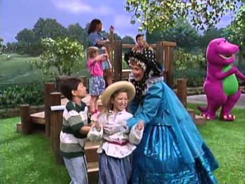Barney - Mother Goose Sings London Bridge Is Falling Down