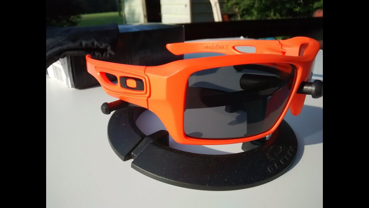orange oakleys  Custom Oakley Eyepatch 2 Safety Orange Cerakote C-243Q - YouTube