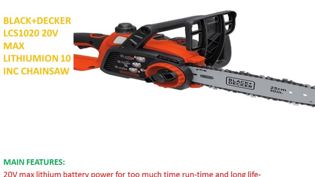 Chainsaw - how to choose a power tool
