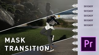 Premiere Pro Tutorial: EASY Background Mask Transition