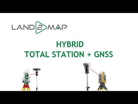 HYBRID MODE : TOTAL STATION + GNSS