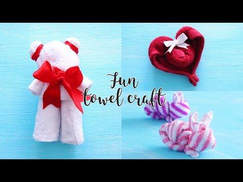 3 Fun Towel Craft Ideas | DIY Activities