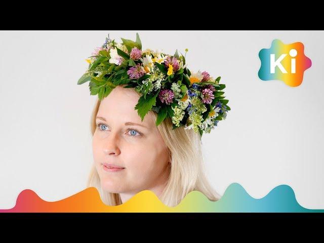 blomsterpynt til håret