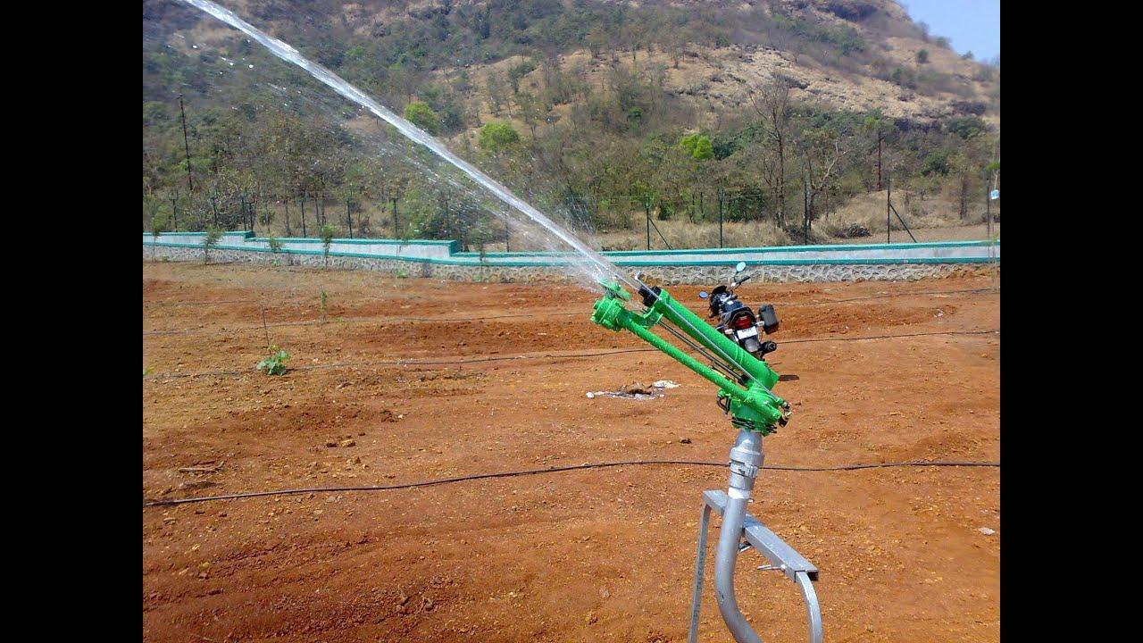 Vedant Raingun Irrigation Long Range Sprinkler India